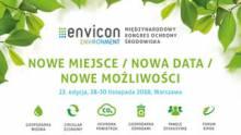 ENVICON - nowe miejsce, nowa data, nowe możliwości